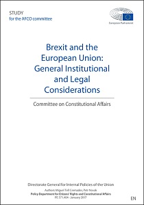 Brexit and the European Union : general institutional and legal considerations / European Parliament