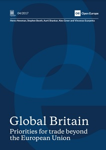 Global Britain : priorities for trade beyond the EU / Open Europe