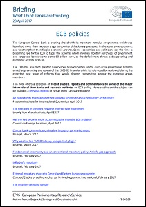 ECB policies / European Parliament