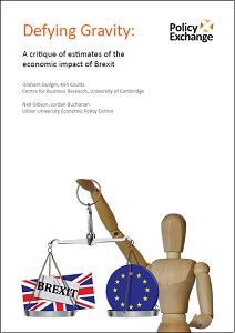 Defying gravity : a critique of estimates of the economic impact of Brexit / Policy Exchange