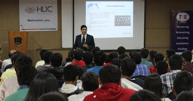 Sameer Somal, CFA,l in Ahmedabad