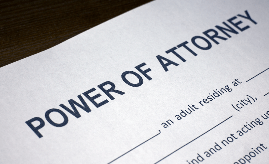 Power Of Attorney What Every Financial Adviser Should Know Cfa