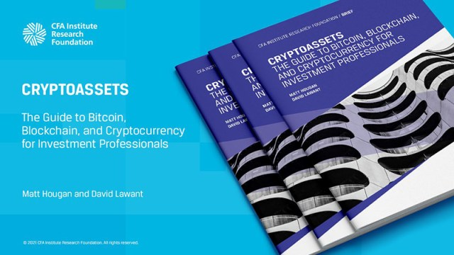 Promotional tile of Cryptoassets: The Guide to Bitcoin, Blockchain, and Cryptocurrency for Investment Professionals