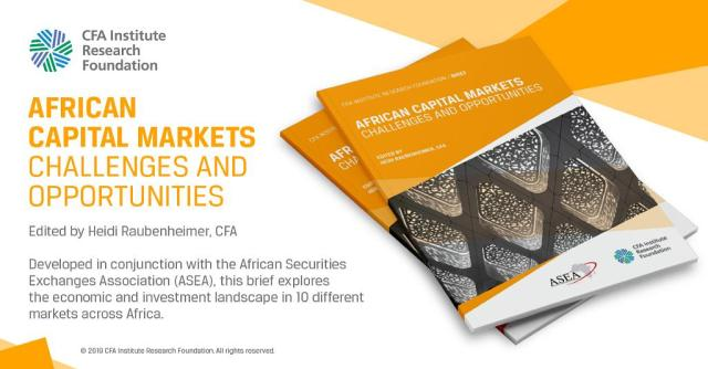 African Capital Markets: Challenges and Opportunities Graphic