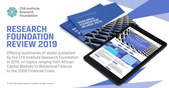 Ad for Research Foundation Review 2019