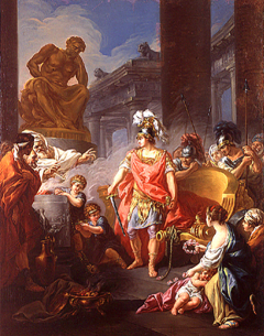 Image of Jean-François Godefroy Alexander Cuts the Gordian Knot