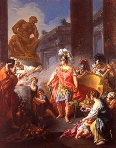 Image of Jean-François Godefroy Alexander Cuts the Gordian Knot