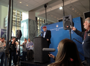Former Colts offensive coordinator Bruce Arians returned to Indianapolis on Thursday for the 2013 NFL Combine. Arians addressed the media on Thursday morning as the Arizona Cardinals head coach.