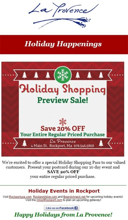 30 Creative Ideas For Your Holiday Email Marketing