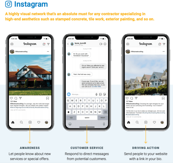 Instagram marketing guide for home building services
