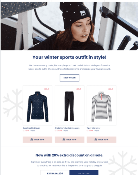 email design example