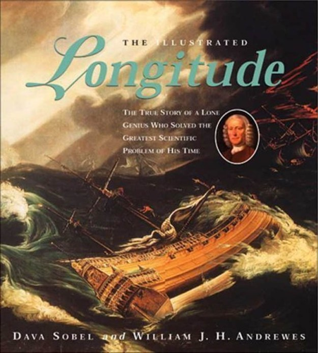 Cover for The Illustrated Longitude - Galleon foundering in heavy seas