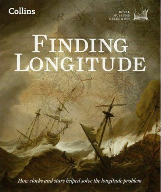 Cover Art for 'Finding Longitude'