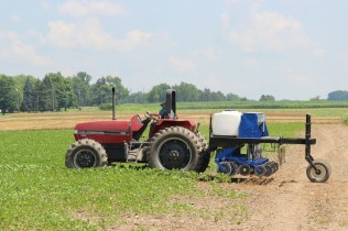 The InterSeeder is not a large piece of equipment