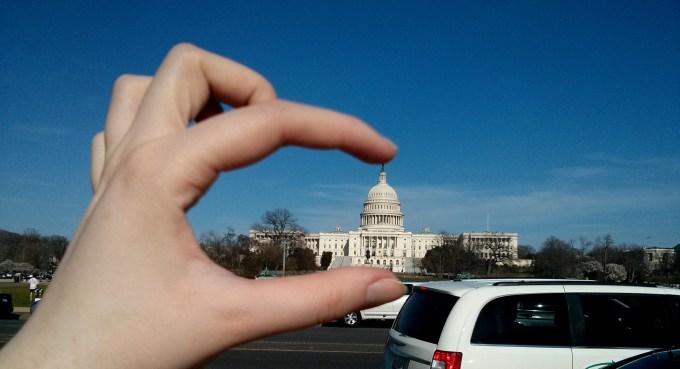[Photo courtesy of Adriana Popa   Annually IFP makes a trip to Washington, D.C.]