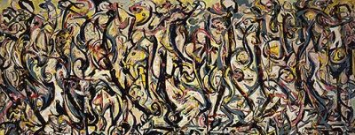 University of Iowa Museum of Art, Gift of Peggy Guggenheim 1959.6 / © 2009 Pollock-Krasner Foundation / ARS, NY