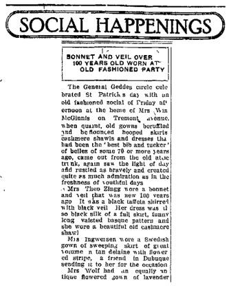 Davenport Democrat March 19, 1922, p.17