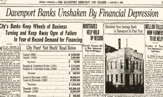 Headlines Financial  1Jan1922