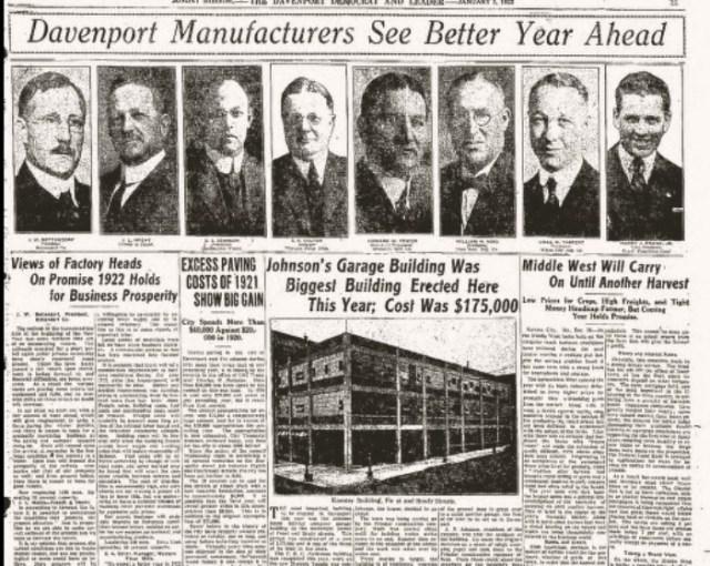 Headlines Manufacturing  1Jan1922