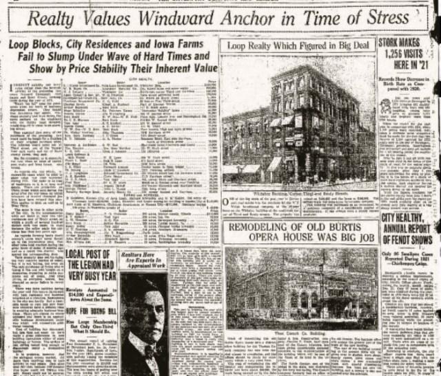 Headlines Realty  1Jan1922