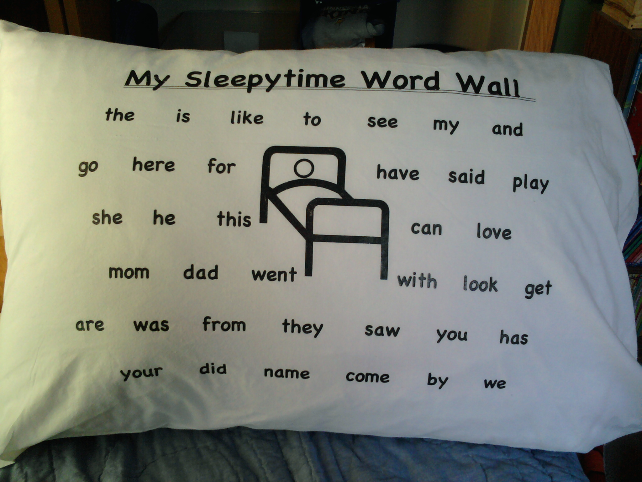 Early Childhood And Youth Development Sleepy Time Word