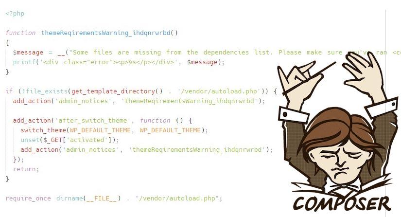 Folosești Composer în tema ta WordPress? Evită erorile la instalare!
