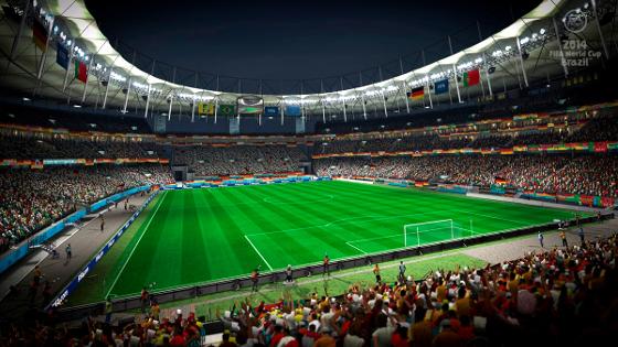 Fonte Nova. Crédito: game Fifa World Cup 2014/EA Sports