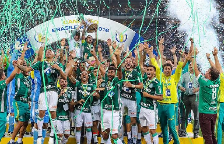 Resultado de imagem para palmeiras campeão brasileiro 2016