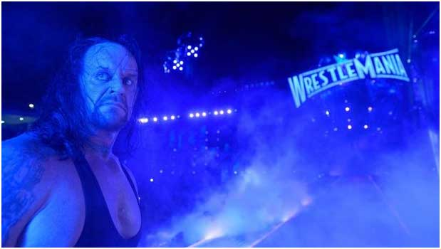 Undertaker appears to retire at WWE WrestleMania 33