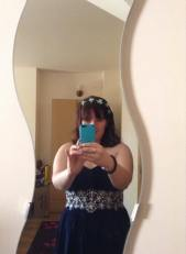 This is me in my room before I went to get the train to aintree