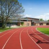 Edge Hill Running track