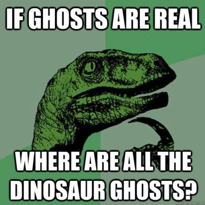 Dino-ghosts