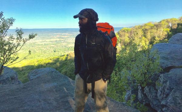 Earle Chambers, Ph.D. hiking