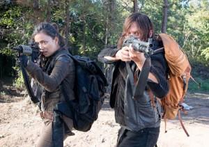 The Walking Dead 6x14 Daryl y Rosita