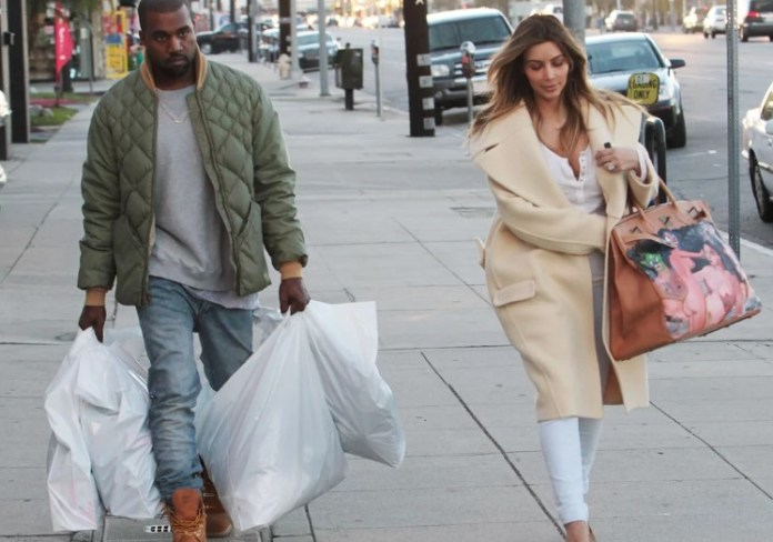 The 15 gifts most expensive - Kanye West and Kim Kardashian