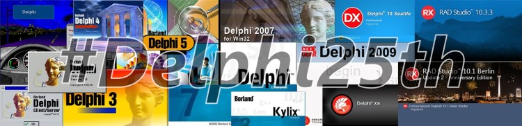 #Delphi25th