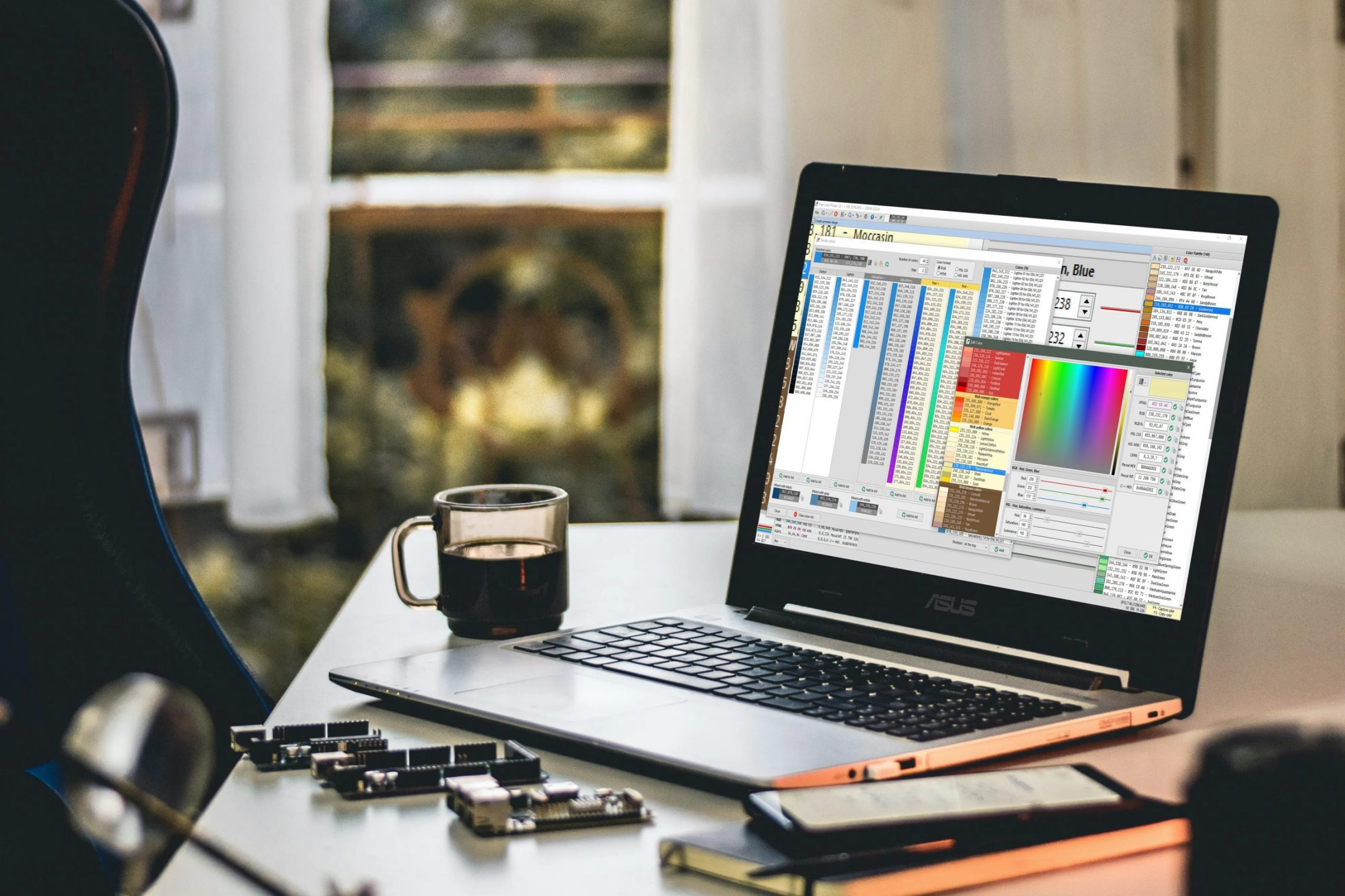 Free Color Picker Is An Amazing Advanced Color Capture Software Built In Delphi