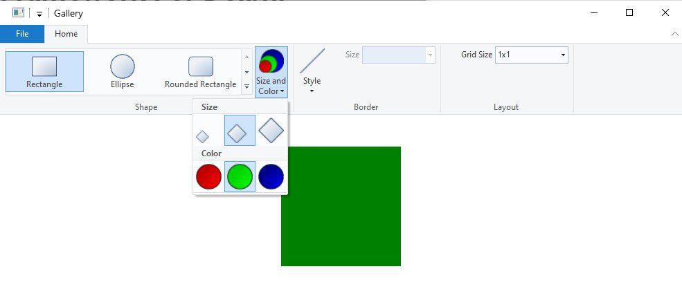 Windows Ribbon Framework screenshot