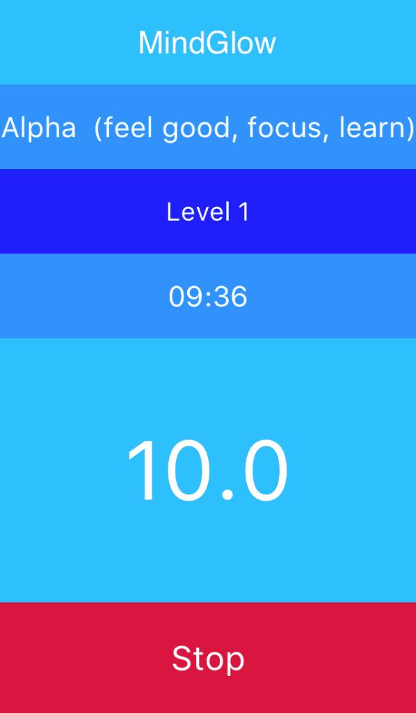 MindGlow Mindfulness Delphi Android mobile App 1