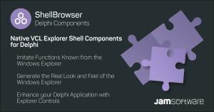 ShellBrowser Delphi Components