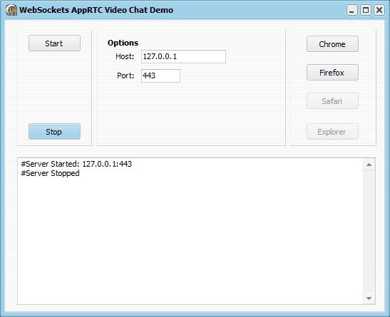 WebRTC Demo Application