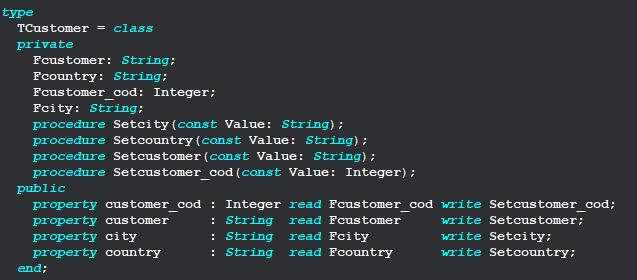 Powerful Dashboards with REST API & Delphi MVC Framework - TCustomer MVC Class