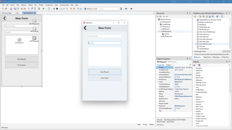 How To Validate And Verify Email IDs Using MailboxLayer API - a new form