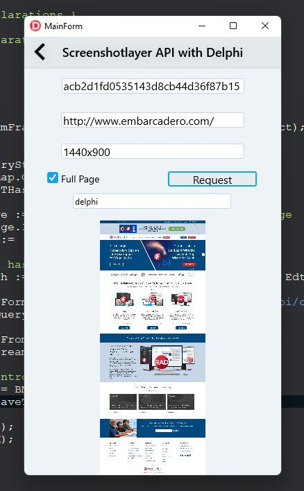 How To Capture Highly Customizable Website Snapshots - screenshot app in action