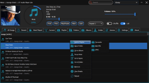 Screenshot of MediaPlayerLite