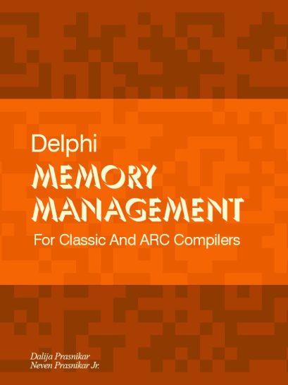What Is It Like To Be A Developer Dalija Prasnikar? Dalija's memory management book