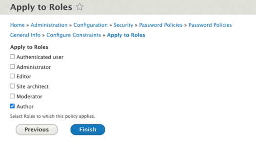 Apply to Roles