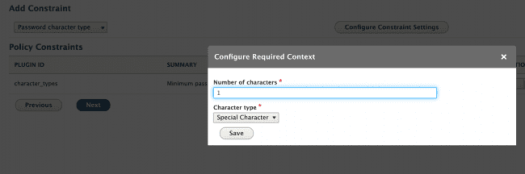 Number of Character