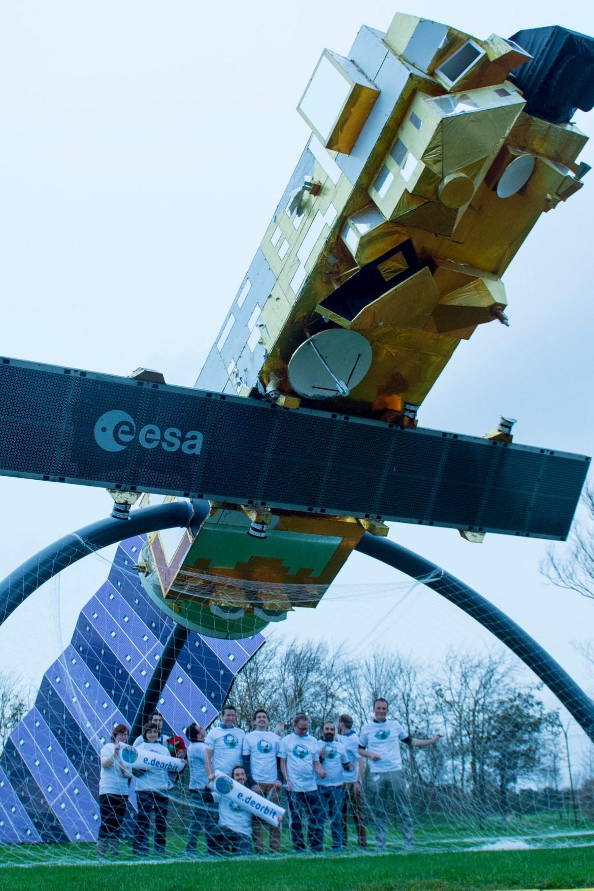 Let's e.deorbit Envisat