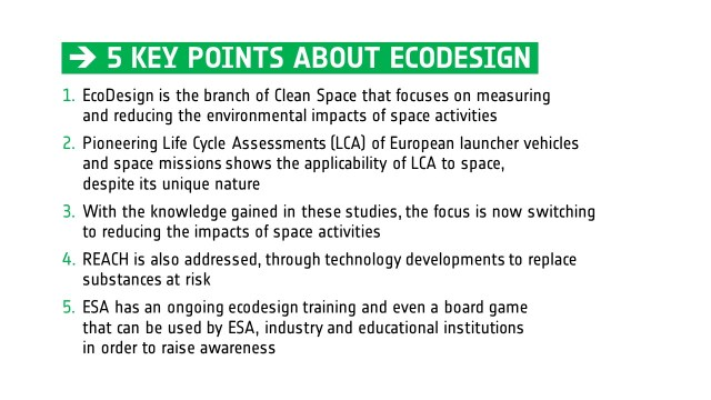 5 KEY POINTS ABOUT ECODESIGN